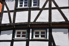 Facade of Fachwerkhaus in Germany Royalty Free Stock Photography