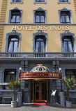Facade of the famous hotel des Indes in the Hague holland Royalty Free Stock Image