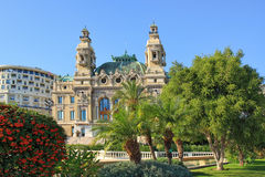 Opera de Monte-Carlo, Monaco. Royalty Free Stock Photography