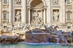 Trevi Fountain. Rome, Italy. Stock Image