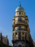 Facade of the famus Edificio Renta antigua - Lopez - Stock Photo