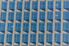 Facade in the financial district of Frankfurt Royalty Free Stock Images