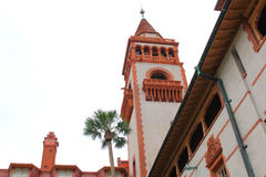 Facade of Flagler College in St Augustine Royalty Free Stock Photography