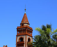 Facade of Flagler College in St Augustine Royalty Free Stock Image