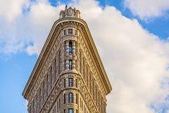 Facade of the Flatiron building  in Manhattan, New York Royalty Free Stock Photo