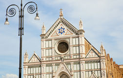 Facade of the Florence cathedral Stock Image