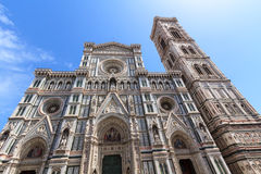 Facade of the Florentine Dome Stock Photo