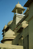 Facade fort fragment of amber in Jaipur Royalty Free Stock Image