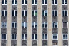 Facade fragment of a building Stock Photo