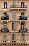 Facade fragment of Monte Carlo building Royalty Free Stock Image