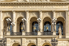 Facade of frankfurts alte oper Royalty Free Stock Photography