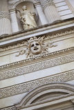 Facade of French opera house Stock Images