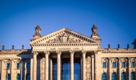 German parliament in Berlin Royalty Free Stock Images