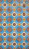 facade glasade portugisiska tegelplattor Royaltyfri Bild