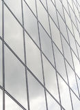 Facade of glass. Front of glass of a modern building Royalty Free Stock Photography