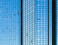 Free Facade Glass Front Of Skyscraper With Sun Reflections Stock Photos - 35224753