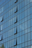 Facade glass windows of a building Royalty Free Stock Image