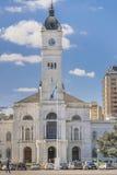 Facade of Government Palace at Moreno Square in La Plata Buenos Stock Image