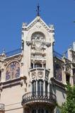 Facade of Gran Hotel in Palma de Mallorca Stock Image