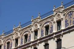 Facade of Gran Hotel in Palma de Mallorca Stock Photography