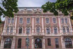 Hotel in Lviv Royalty Free Stock Photo