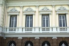The facade of The Grand Palace in Bangkok, Thailand, Asia Royalty Free Stock Photography