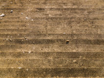 Facade of grunge cement staircase as backgrounds Stock Photo
