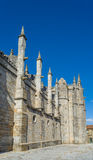 Facade of the Guarda Cathedral. Portugal. Stock Photography