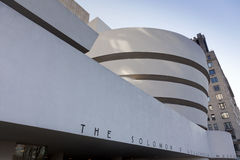 Facade of the Guggenheim Museum, December 19, 2011 Stock Photography