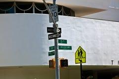 Facade of the Guggenheim Museum Stock Photos