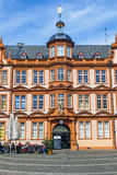 Facade of Gutenberg house in Mainz Royalty Free Stock Images