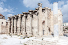 Hadrian Library Athens Greece Royalty Free Stock Image