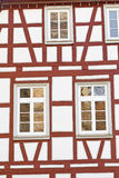 Facade of a half-timbered house, Germany Stock Photography