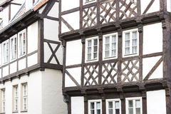 Facade of a half-timbered house Royalty Free Stock Image