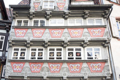 Facade of a half-timbered house Royalty Free Stock Photography