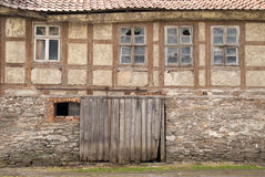 Facade in Harz Mountains Royalty Free Stock Image