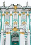 Facade of Hermitage museum. Stock Images