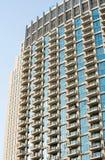 Facade of high-rise multi-storey building - a skyscraper royalty free stock photos