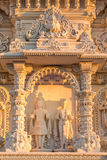 Facade of a hindu temple Stock Images