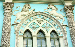Facade of the  historic building Royalty Free Stock Photography