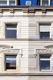 Facade of a historic building Royalty Free Stock Image