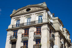 Facade of historic building Stock Image