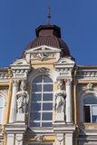 Facade of a historic building with statues Royalty Free Stock Photos