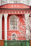 Facade of historic house Royalty Free Stock Photography
