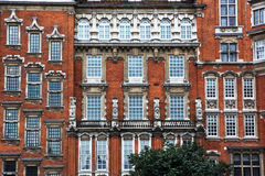 Facade of historical building in London Stock Photo