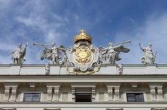 Facade of Hofburg Palace Royalty Free Stock Photography