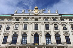 Facade of Hofburg Palace in Vienna Royalty Free Stock Photography