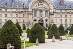 Facade of Hotel des Invalides - Paris. Stock Photography