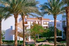 Facade of Hotel  , Egypt Stock Photography