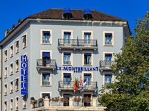 Facade of the Hotel Le Montbrilliant building Stock Photos